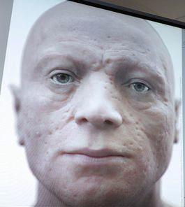 Visage reconstitué de Robespierre : je ne l'imaginais pas du tout comme ça !( peau grêlée mise à part)