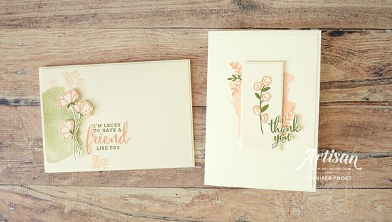 Stampin' Up! Artisan Blog Hop, Share What You Love Promotion - Papercraft by Jennifer Frost