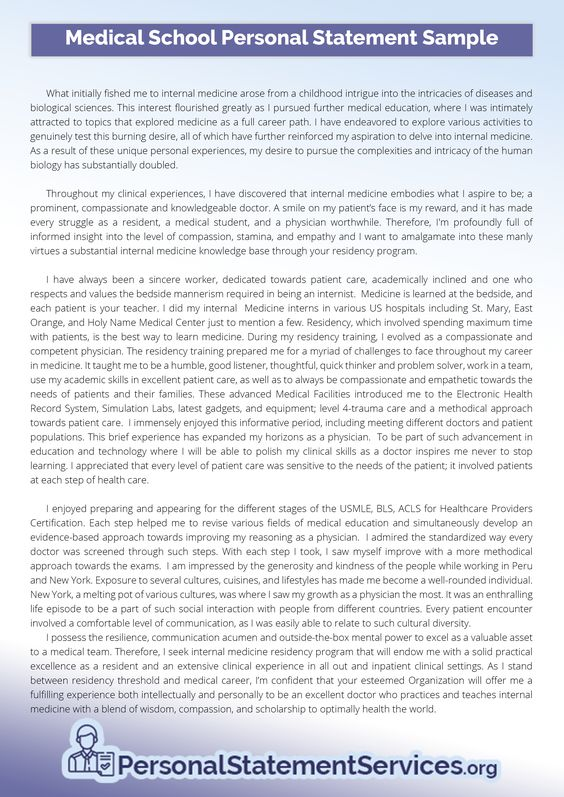 Personal Statement Examples (personalstatementexamples) on Pinterest - personal statement sample