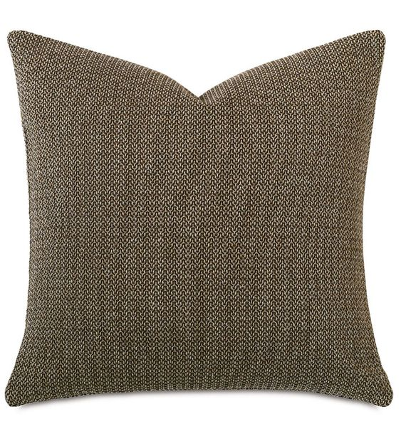 Eastern Accents Maligard Chocolate Knife Edge Pillows Decorative Pillows Decorative Pillow Covers