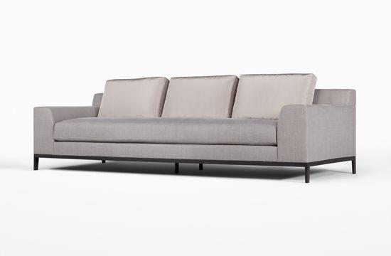 Ugh I wish I could afford this rockin Holly Hunt sofa!!!!!!