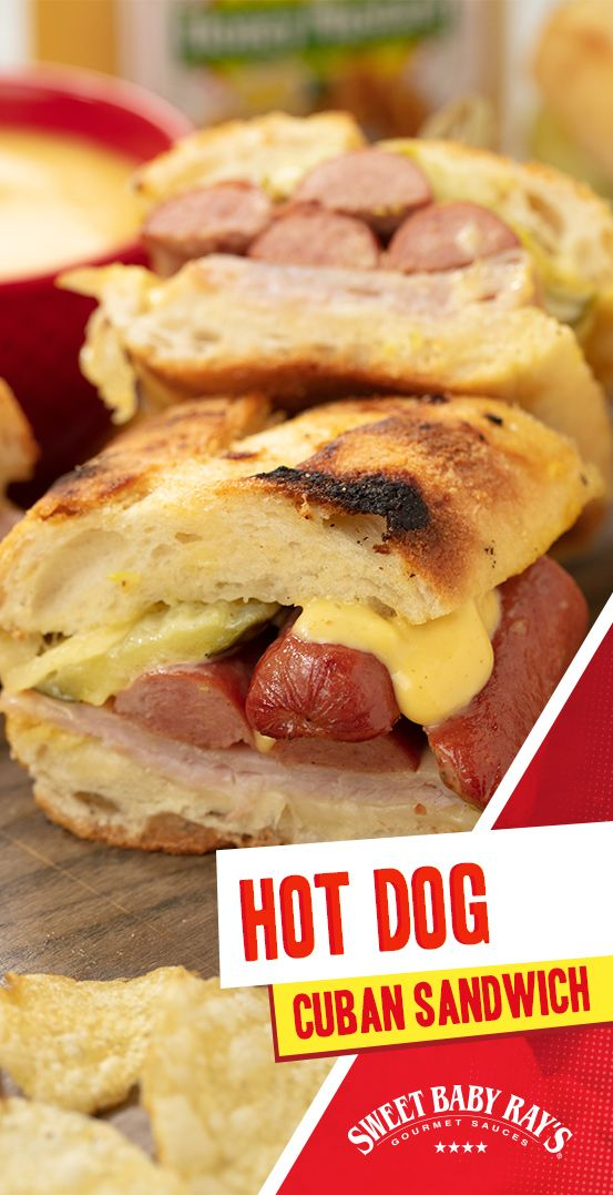 Hot Dog Cuban Sandwich