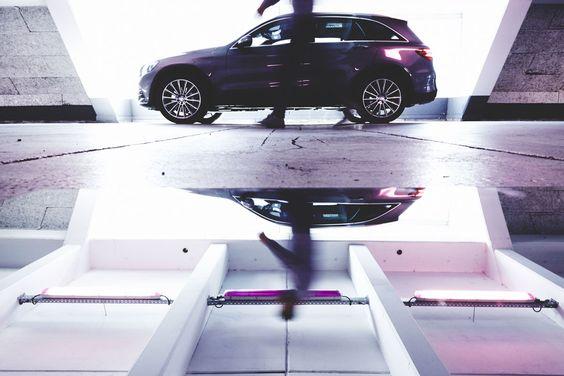 Reflexion // Mercedes-Benz GLC von Jennifer Endom für Heldth