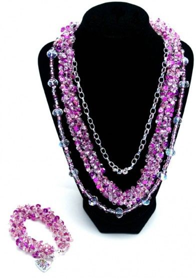 French Knitting With Beads : French knitter jewelry making saga mom and