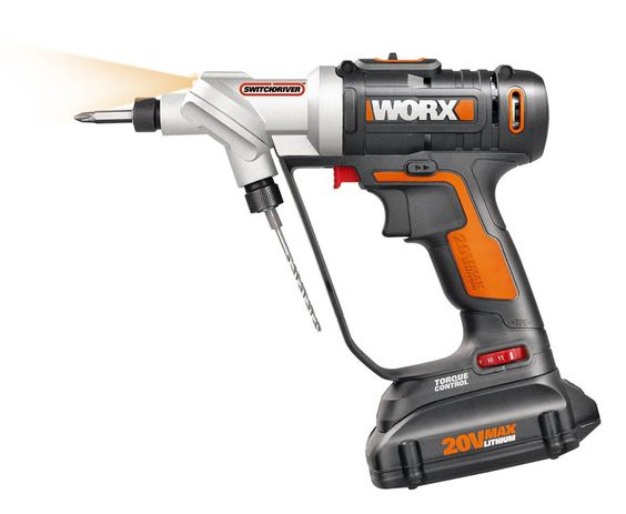 A clever power tool which lets you rapidly switch between drilling pilot holes…