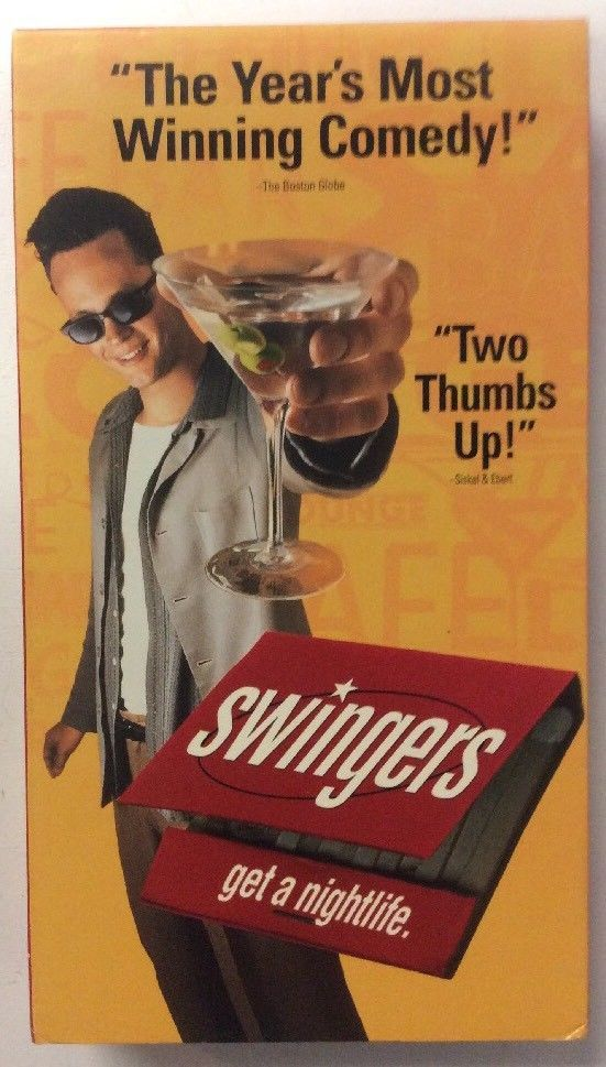 Details About Swingers Vhs 1997 Vince Vaughn Jon Favreau Comedy