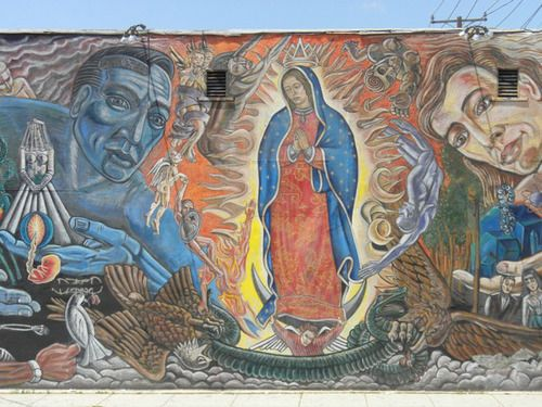East la street art east la memories pinterest art for Chicano mural art