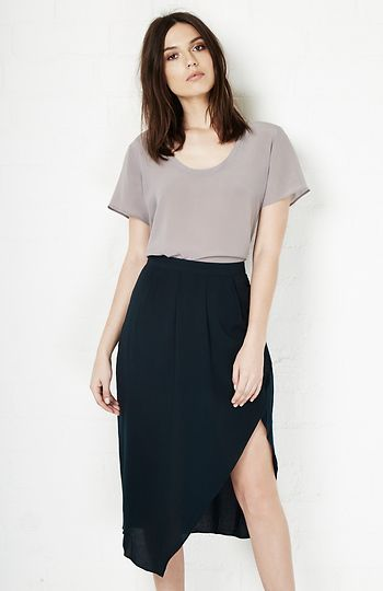 Gentle Fawn Roy Skirt in Dark Green 2 - 6 | DAILYLOOK