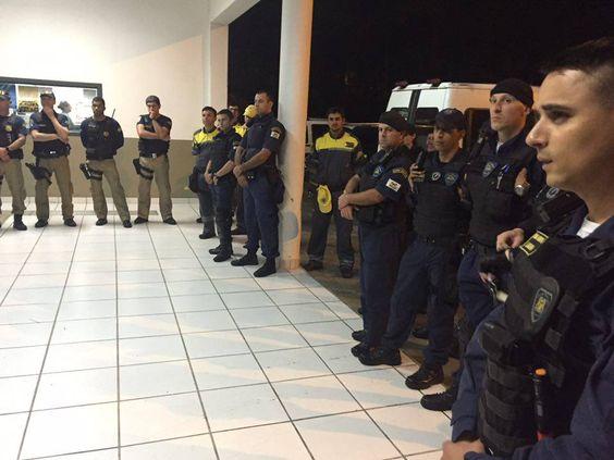 09/03/2016 - reunião de estratégia Fiscalização de Caxias do Sul, RS: