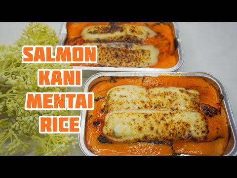 Salmon Mentai Cara Membuat Ternyata Mudah Enak Youtube Di 2020 Makanan Resep Salmon
