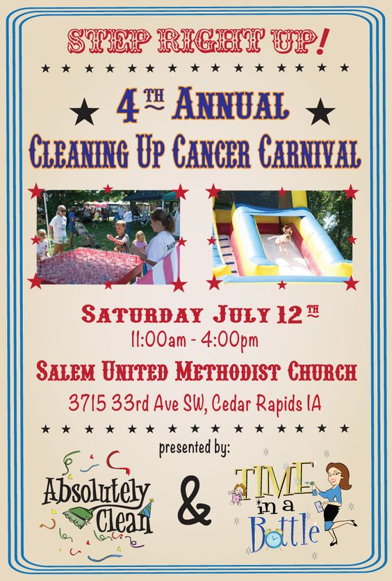 4th Annual Cleaning Up Cancer Carnival!
