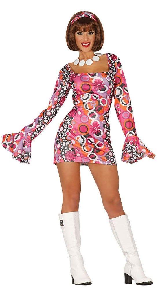 Flower Power Emely Hippie Kleid Hippie Kleid 70er Jahre Kostum