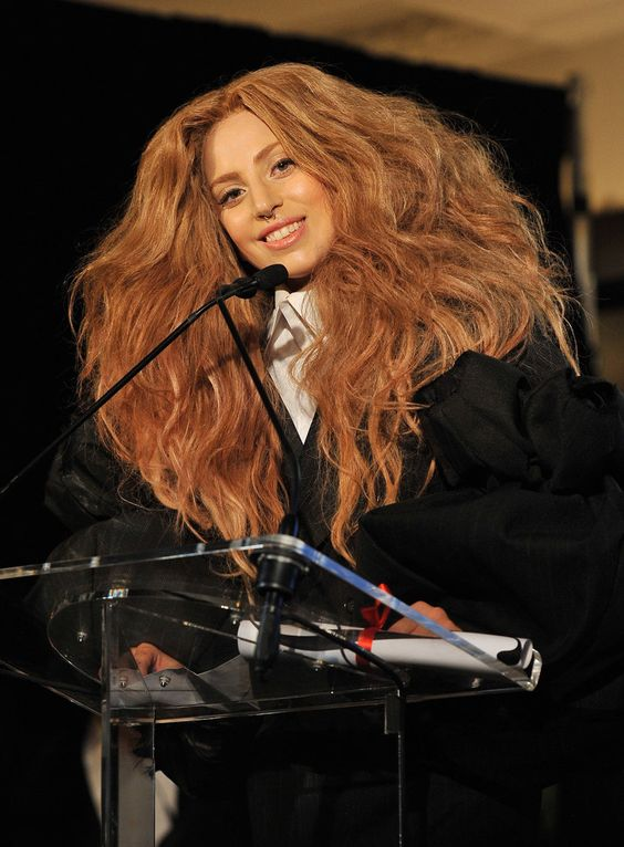 Is it just us, or does #LadyGaga have some #Hermione Granger realness going on? #nyfw #mbfw