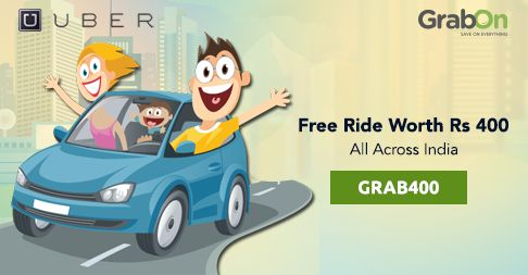 Thinking About Weekend Party? It's Time To Take a #Uber Ride! Get Flat Rs 400 OFF on Your First Ride. http://www.grabon.in/uber-coupons/