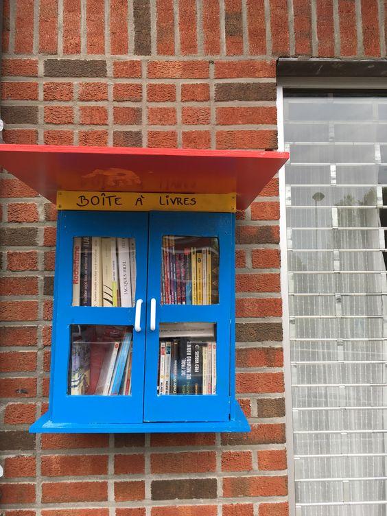 Boîte à livres Woluwe Saint Lambert 4
