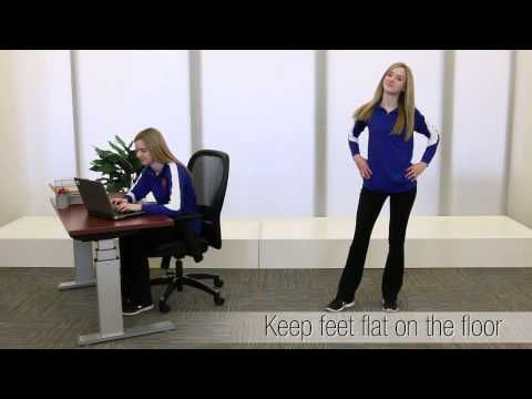 How to Have Proper Posture at the Office // Inspiration from the NBF Network