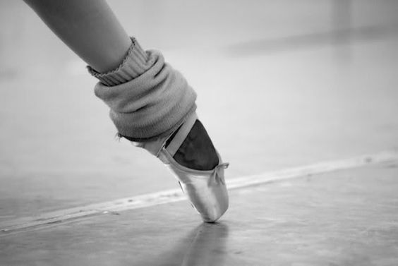 Worse than heels, those shoes are... But they're so beautiful. Couldn't imagine my life right now without dance.