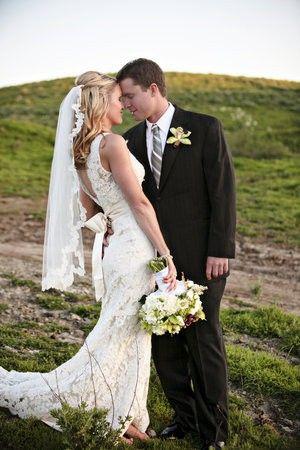 Cute wedding veil