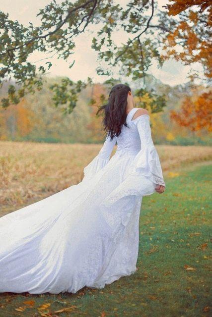 Lady Gwen Lace Up Fantasy Fairy mittelalterliche Hochzeit samt und Spitze Kleid Custom