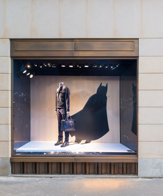 Batman et Superman chez Berluti