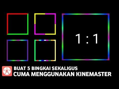 Bingkai Kin Master Youtube Seni Gif