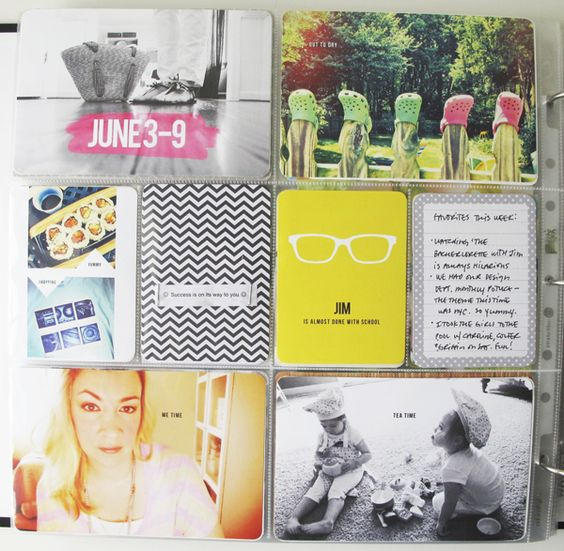 PROJECT LIFE | Week Twenty-Three + Free Download and Video Tutorial