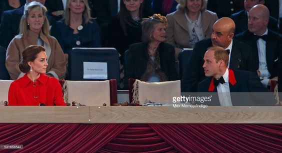 Catherine, Duchess of Cambridge and Prince William, Duke of Cambridge attend the final night of The Queen's 90th Birthday Celebrations being held at the Royal Windsor Horse Show in Home Park on May 15, 2016 in Windsor, England.