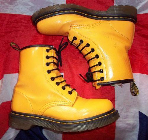 Yellow Doc Martens | eBay UK - #yellow