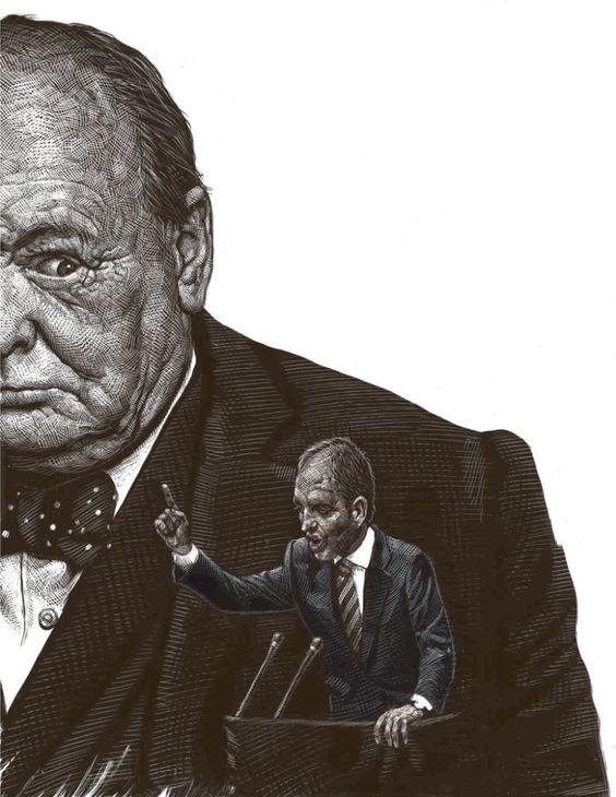 Ricardo Martinez 耐人尋味的精緻黑白繪