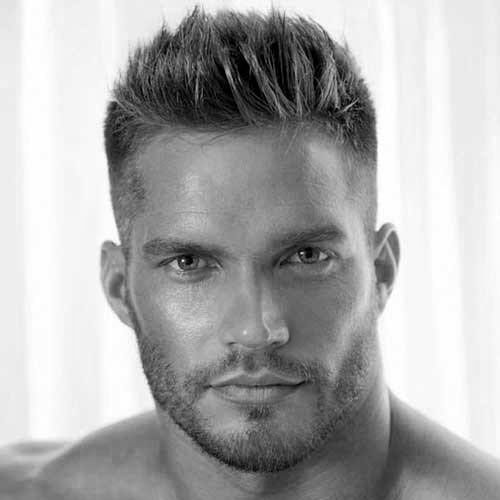 Short Spiked Hair High Taper Fade Spiky Hair Short Spiky Hairstyles Haircuts For Men