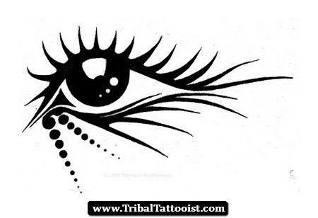 Tribal Eye Tattoo Meaning | Custom Tattoo Artists