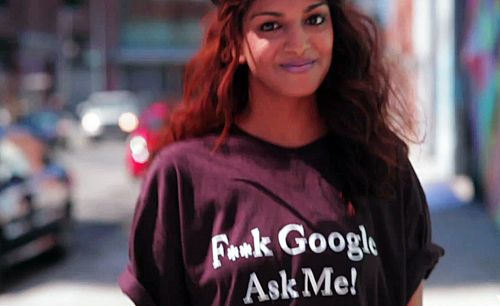 MIA Mathangi Ask Google shirt