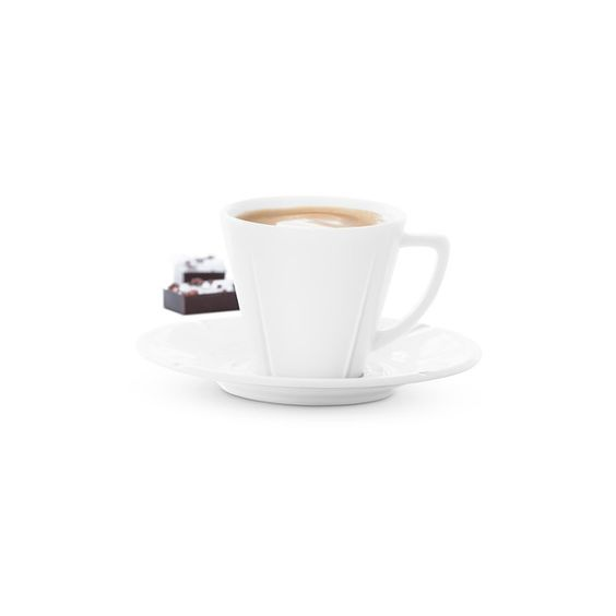 DescriptionA small cup of strong espresso can be both the perfect end to a good meal or a kick-start to the day. This simply designed espresso cup is part of th