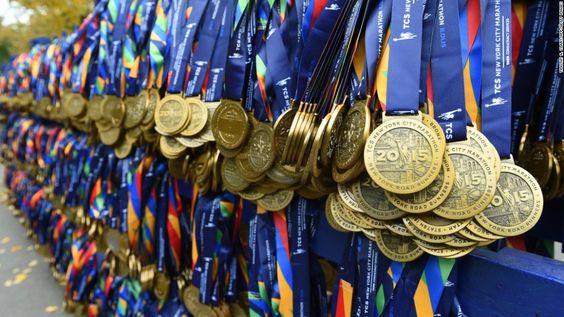 Medallas Maratón NY 2015: