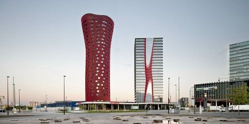 Porta Fira Towers, Barcellona, Spain
