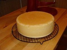 This changed my life. How to bake a cake with a flat top (just put a larger cake pan on top of it like a lid)