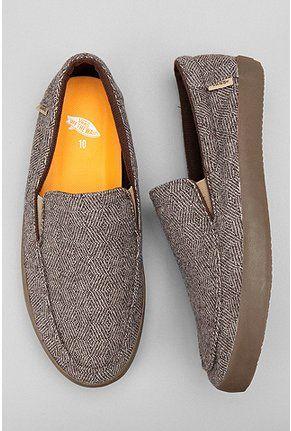vans herringbone bali slip-on. These look comfortable to wear as slippers.