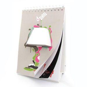 Lámpara libreta USB Led estilo Calendario