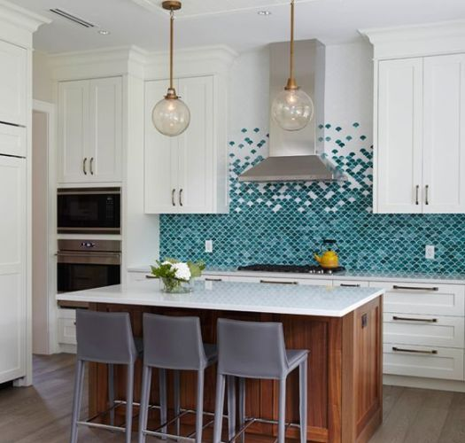 17 Tempting Tile Backsplash Ideas For Behind The Stove Cococozy Kitchen Design Diy Turquoise Kitchen Kitchen Design