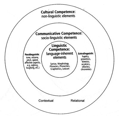 Hall's model of developing cultural competence.