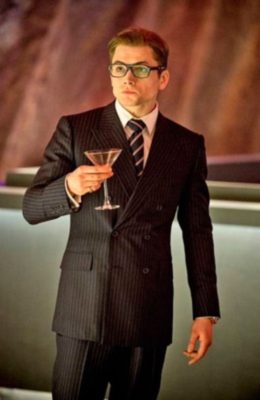 Taron Egerton. A man in a suit is SO sexy!!