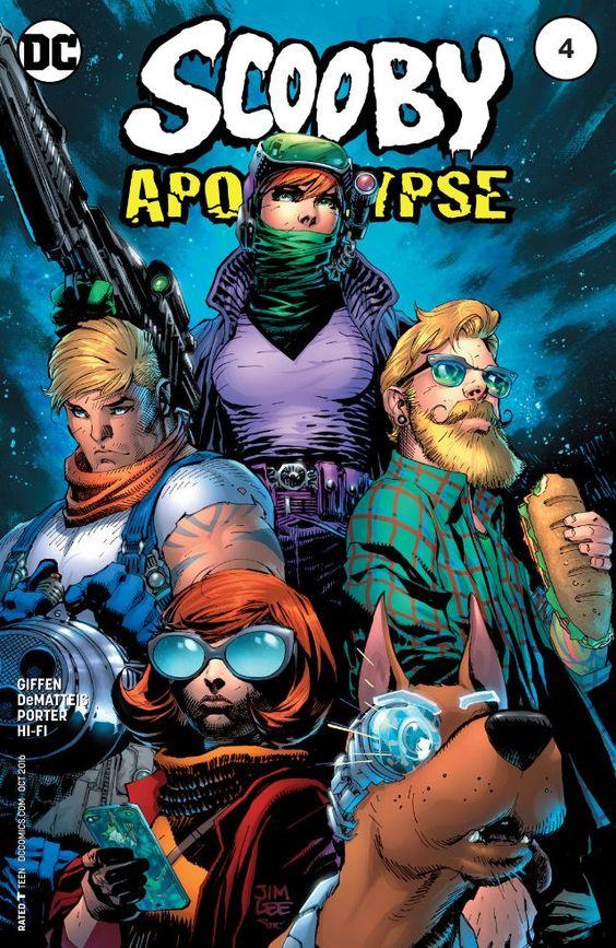 Scooby Apocalypse (2016) #4 #DC @dccomics #ScoobyApocalypse (Cover Artist: Jim Lee & Alex Sinclair) Release Date: 8/17/2016