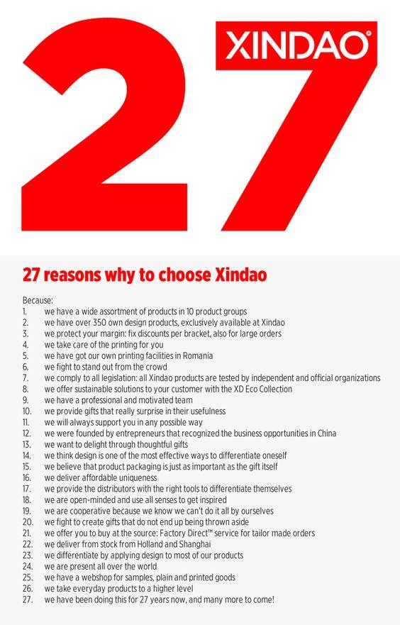 27 reasons