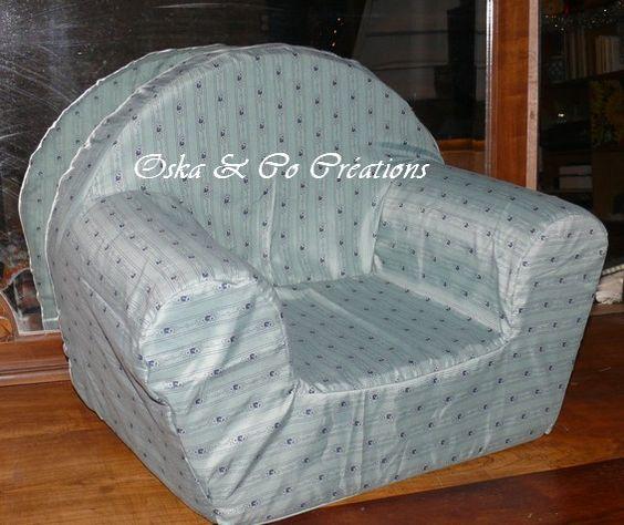 Diy une housse pour fauteuil club en mousse pour enfant je for Housse fauteuil mousse bebe