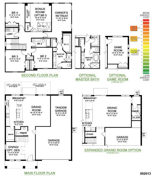 Osprey Floor Plan Two Story Home With Upstairs Owner S