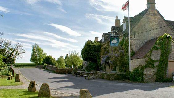 The Swan Inn at Swinbrook, Near Burford, Oxfordshire: