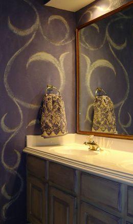 prpjects paint kool paint faux crackle paint paint idea bad bathrooms
