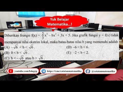 Utbk 1 Matematika Saintek No 14 Latihan Sbmptn Youtube Education Youtube Nilai