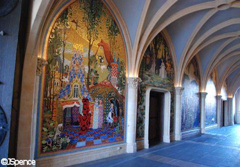 Neuschwanstein Castle Interior | ... of Cinderella Castle, Copyright Jack Spear, Courtesy AllEars.Net