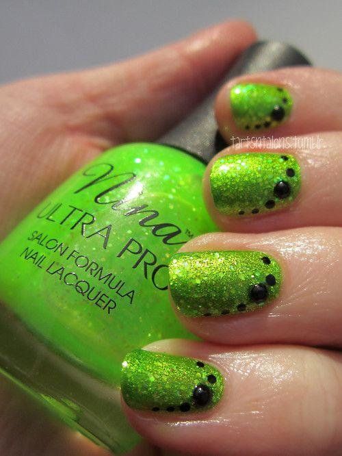 11.28.12 Kleancolor Metallic Green Nina Ultra Pro Electric Slide ...
